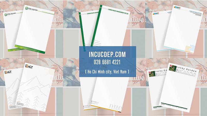 Một số mẫu thiết kế letterhead cho công ty