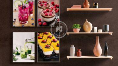 Photo of Làm menu dán tường bằng in decal pp.