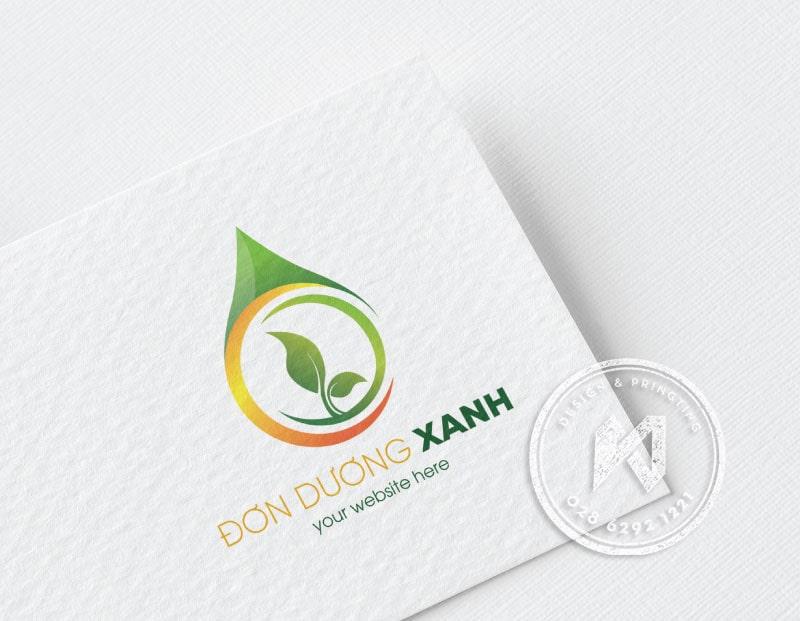 Thiết kế logo doanh nghiệp DON DUONG XANH