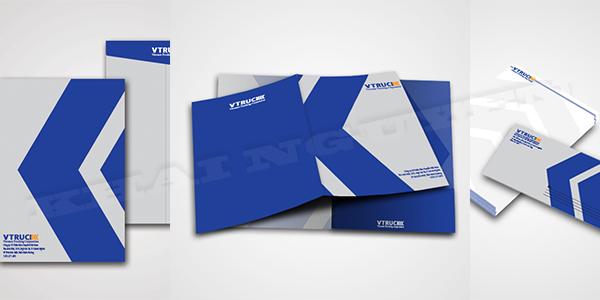 Giới thiệu  bộ nhận diện thương hiệu công ty VTRUCK