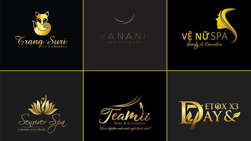Thiết kế logo spa beauty đẹp