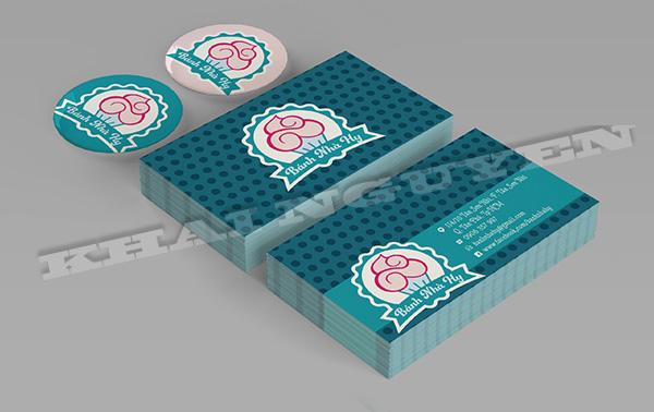 Card visit - bộ nhận diện thương hiệu