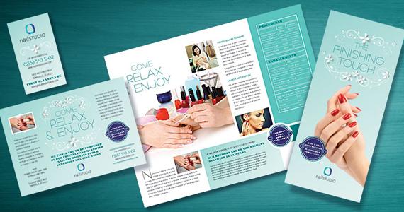 Bộ nhận diện thương hiệu nails