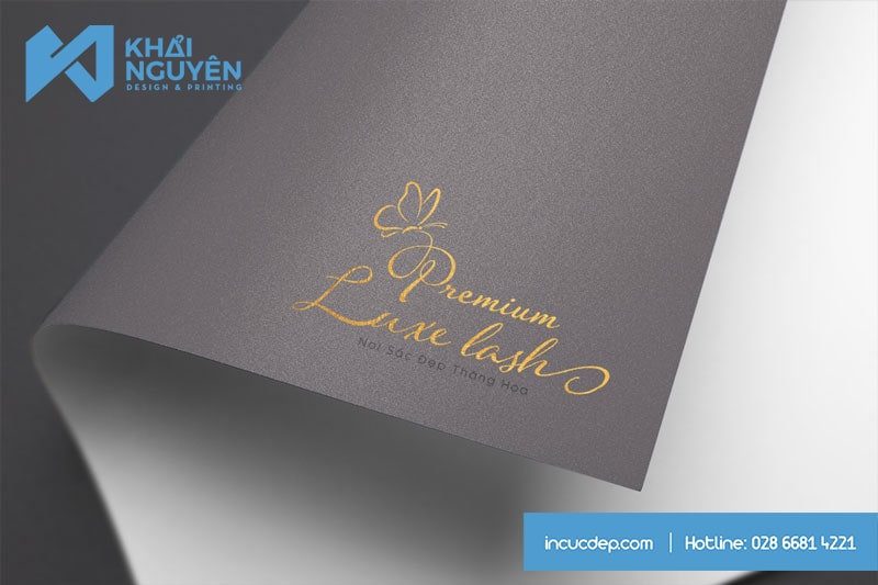 Premium Luxe Last Beauty Spa & Nails Logo Design