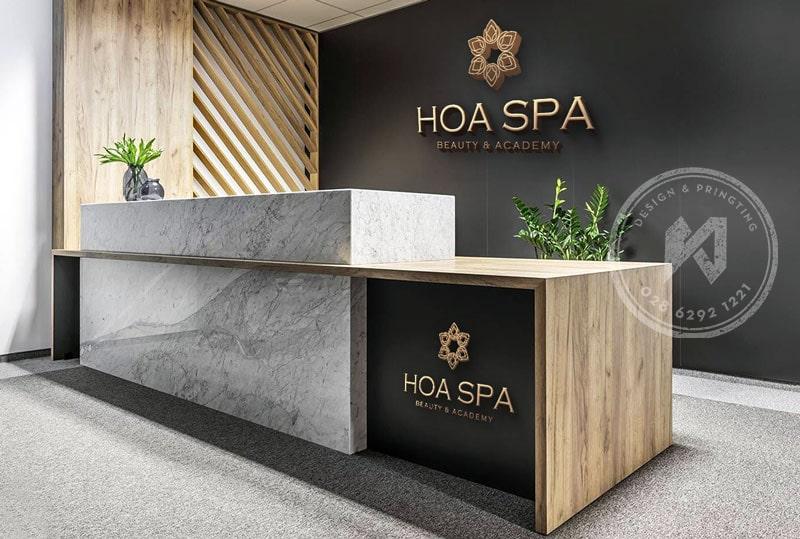 Thiết kế logo Hoa Spa Đẹp và Ấn Tượng