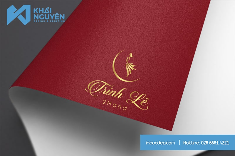 TRINH LE Spa Logo Design