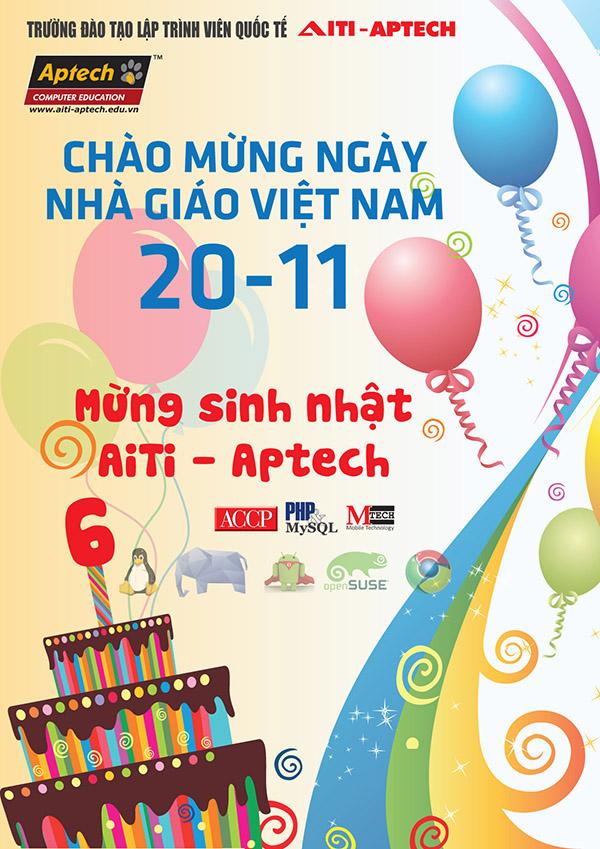 Mẫu thiết kế poster sinh viên & ngày 20-11