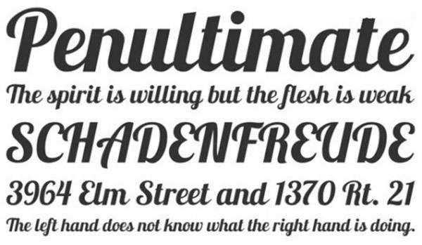 Nguyên tắc chọn font chữ  trong thiết kế brochure