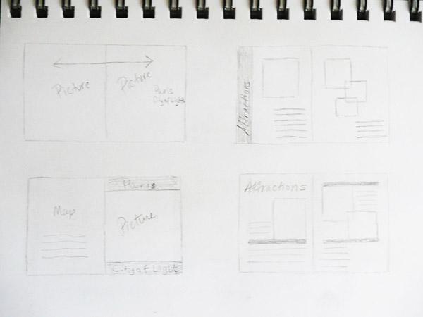 Phác thảo brochure - các bước làm brochure