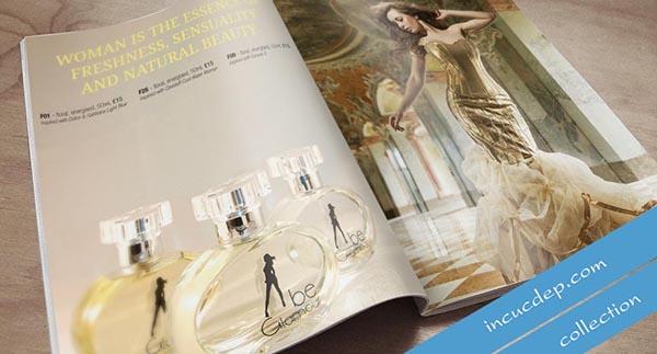 Mẫu in catalogue với hình ảnh ấn tượng