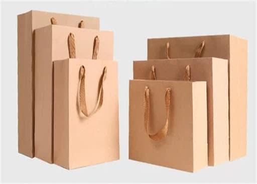 In túi giấy kraft giá rẻ với rất nhiều kích thước lựa chọn