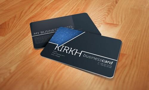Photo of In card visit nhựa cao cấp tấm vé thương hiệu
