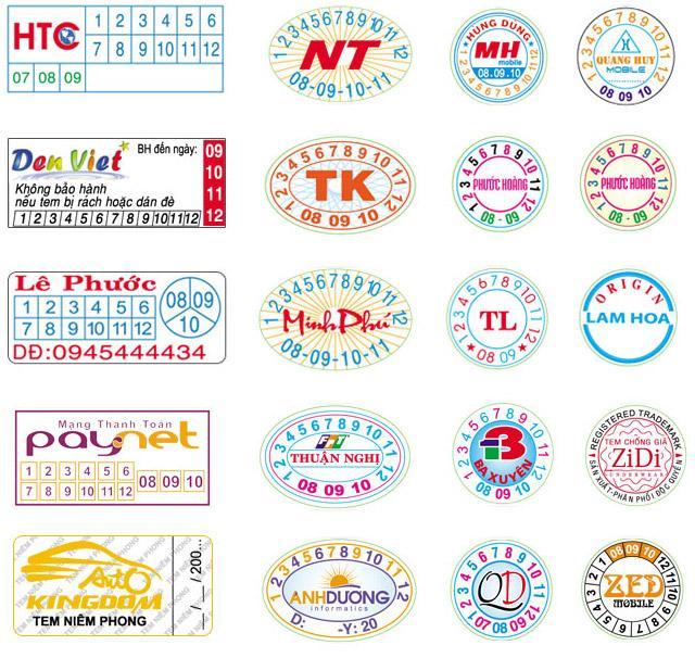 In tem bảo hành, in tem giấy giá rẻ tphcm