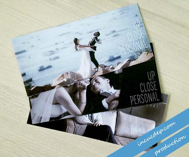 Mẫu thiết kế card visit của photographer nổi tiếng