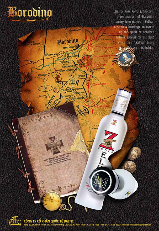 Poster được thiết kế theo phong cách cổ điển