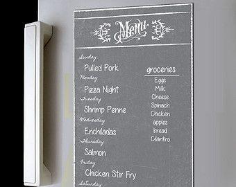 Mẫu menu dán tường, menu decal pp