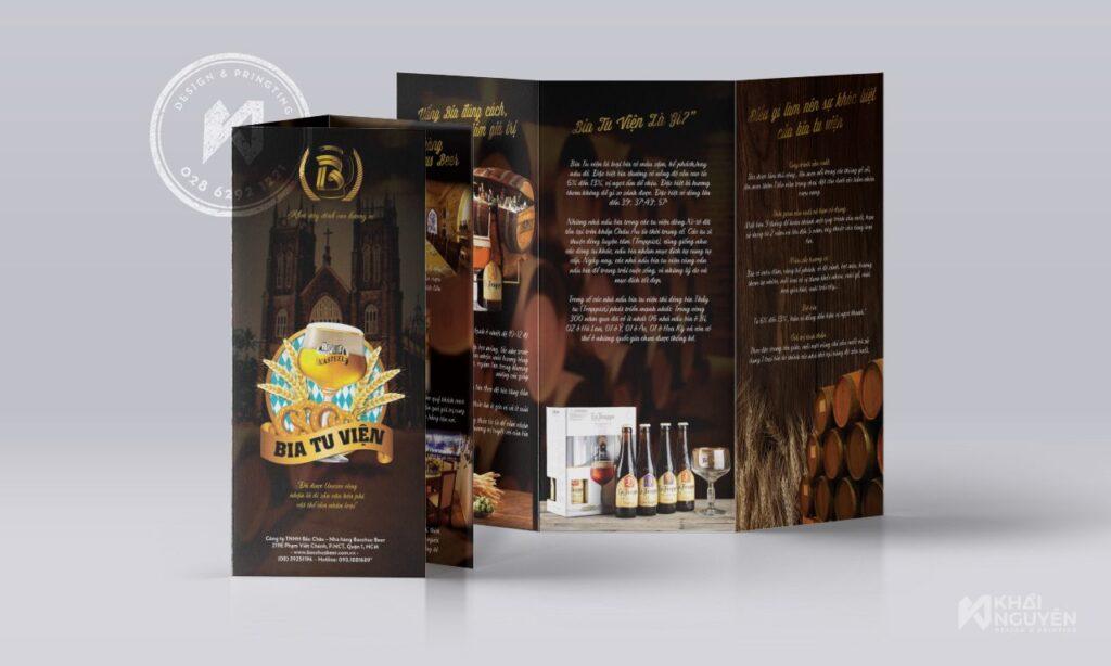 Dịch vụ in brochure tờ gấp tại TPHCM