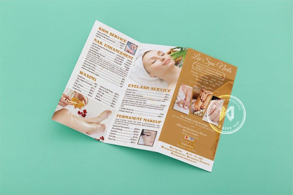 Địa chỉ in brochure giá rẻ TPHCM
