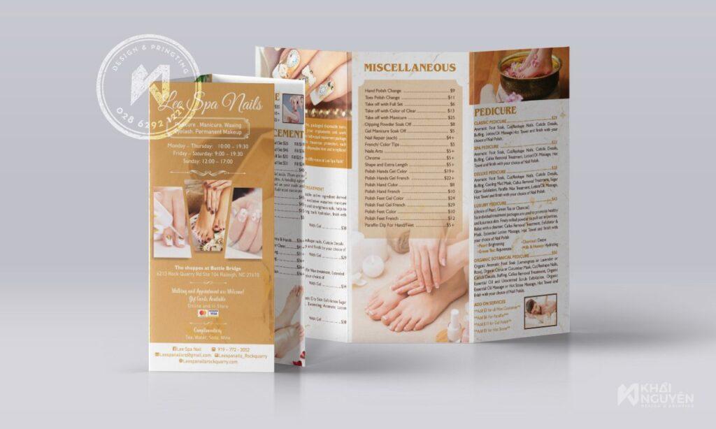 Dịch vụ in brochure nhanh lấy gấp trong ngày