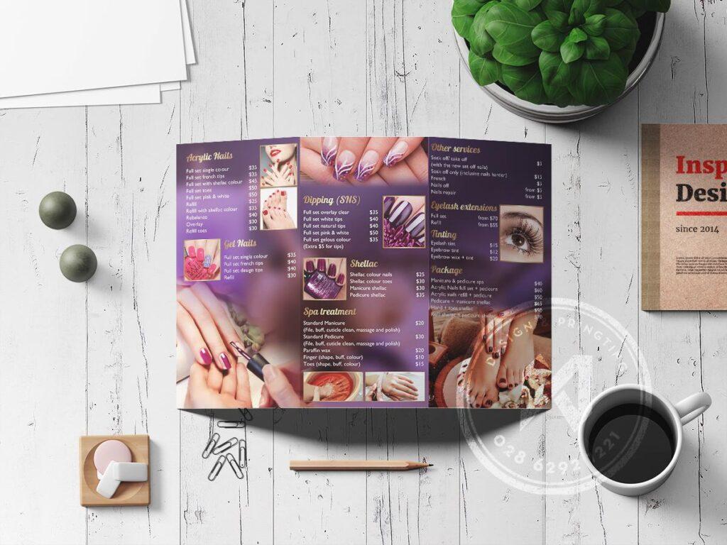 Xưởng in brochure gấp 3 theo yêu cầu