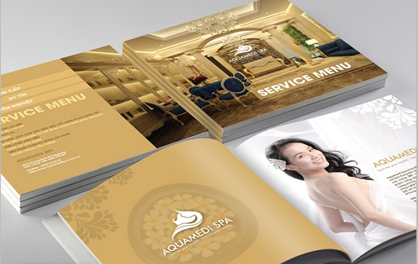 In brochure giấy mỹ thuật cao cấp