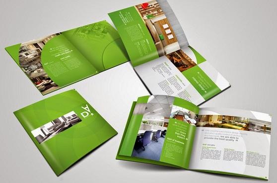 Mẫu thiết kế profile công ty nội thất