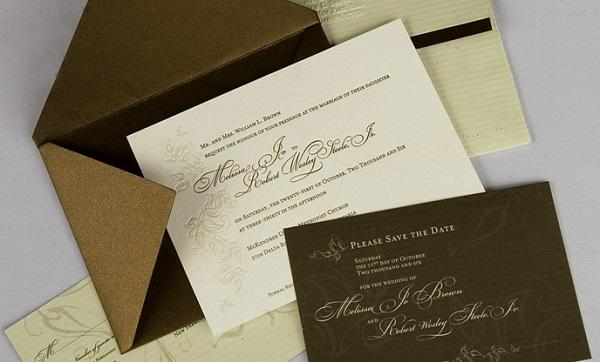 In thiệp mời, thiệp cưới giấy mỹ thuật