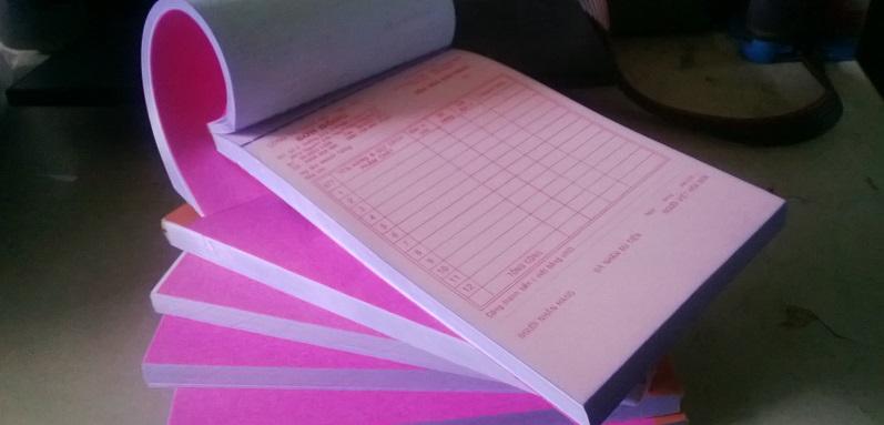 In phiếu thu chi tại hcm - in hóa đơn tại hcm - in biểu mẫu giá rẻ