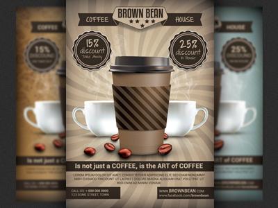 Thiết kế tờ rơi cafe
