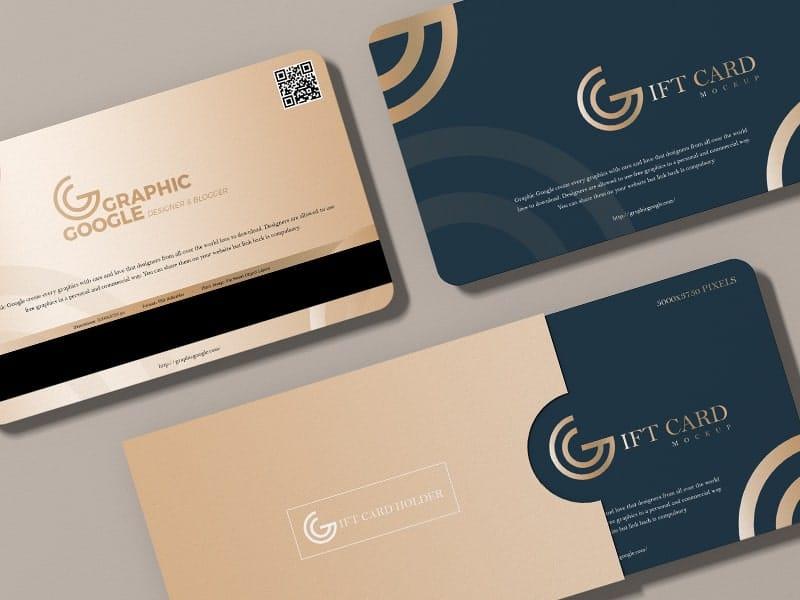 Thiết kế voucher đẹp - gift card cao cấp