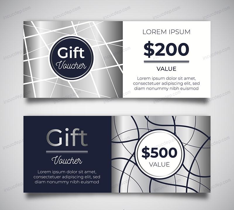Gift voucher template $200