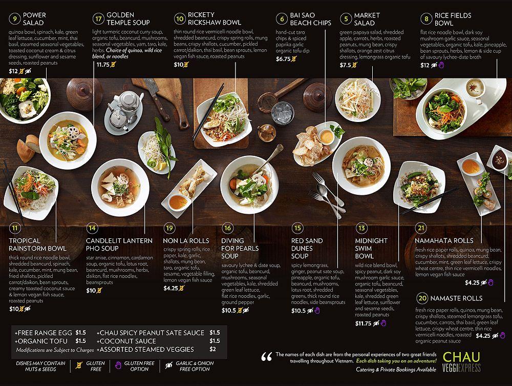 Làm menu thực đơn bảng cho nhà hàng