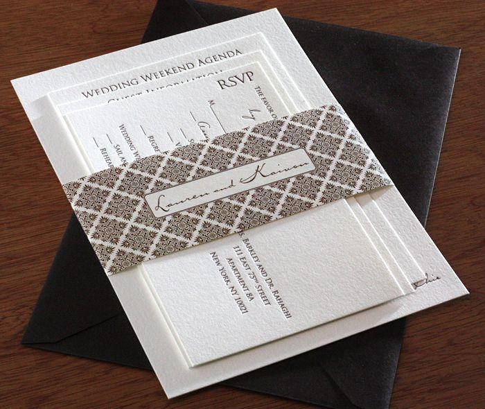 Mẫu thiết kế và in thiệp mời cực chất