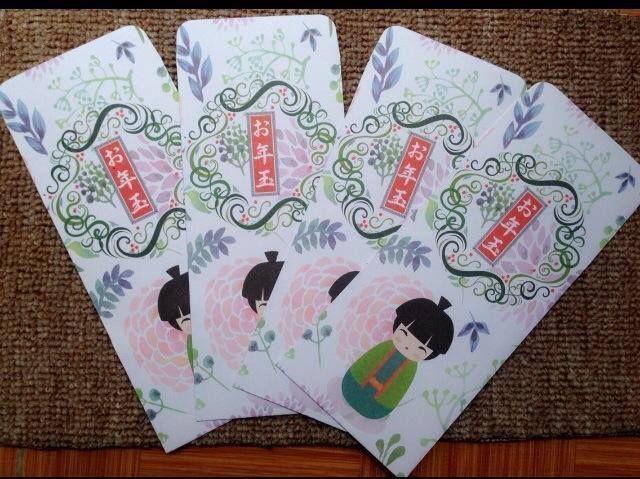 Bao lì xì mang đậm phong cách Nhật