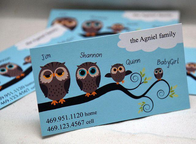 Mãu thiết kế card visit shop thú nhồi bông