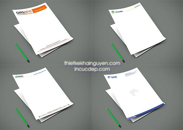 In giấy tiêu đề số lượng ít chất lượng cao tại tphcm