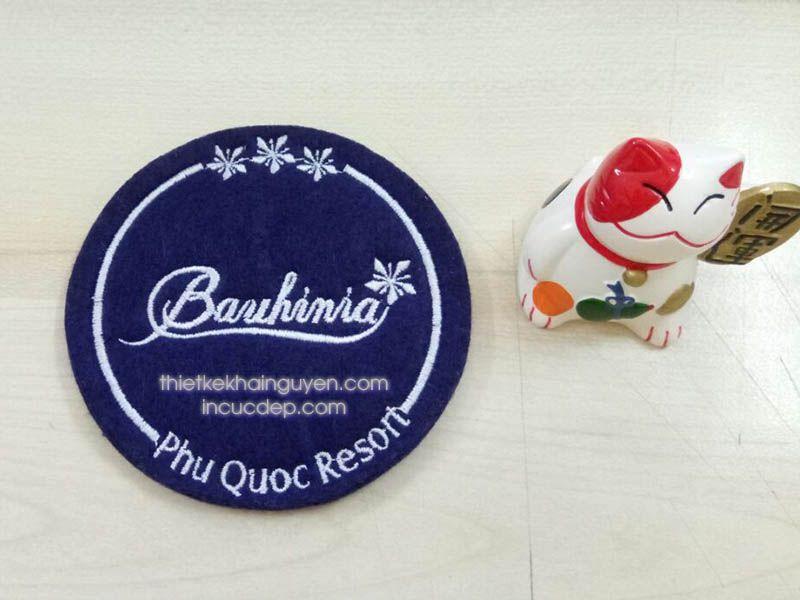 Mẫu lót ly vải của RESORT Banihinia