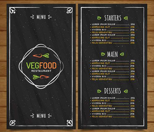 Một mẫu thiết kế menu miễn phí dành cho các bạn