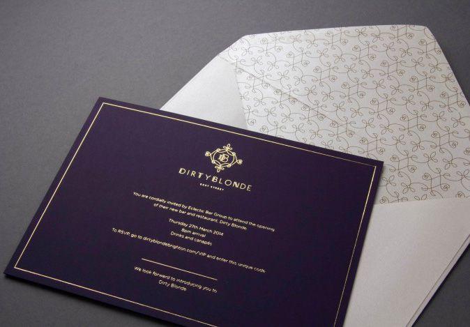 Nội dung thiết kế thiệp mời phải chuẩn - đặc biệt không được sai chính tả