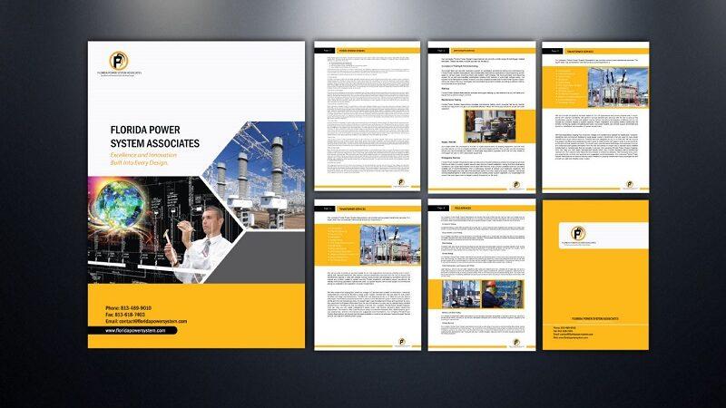 Mẫu thiết kế profile hồ sơ năng lực công ty