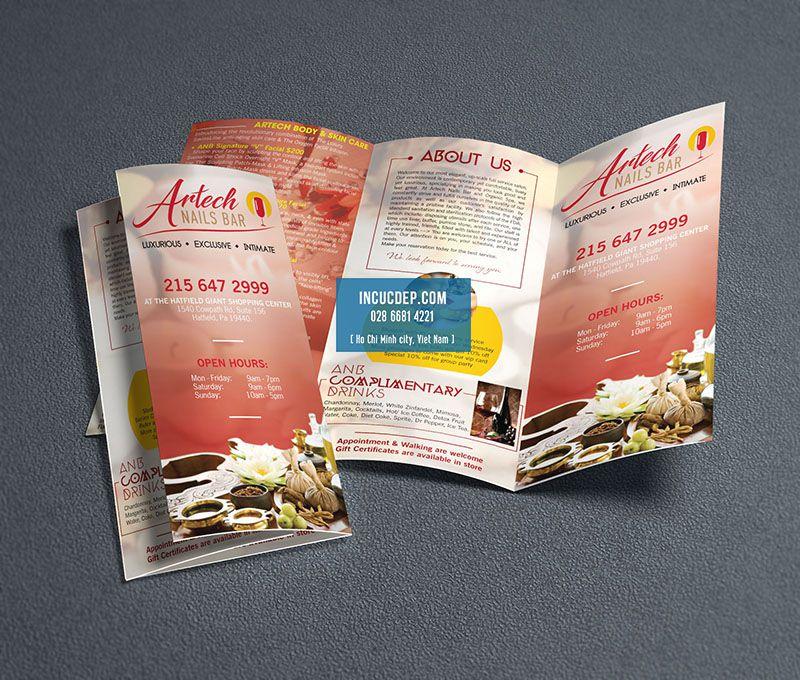 Quy cách làm brochure khá đa dạng