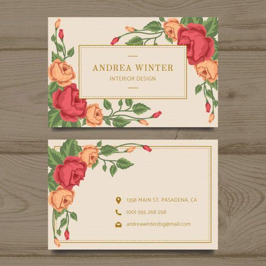 Mẫu thiết kế name card dành cho phái đẹp