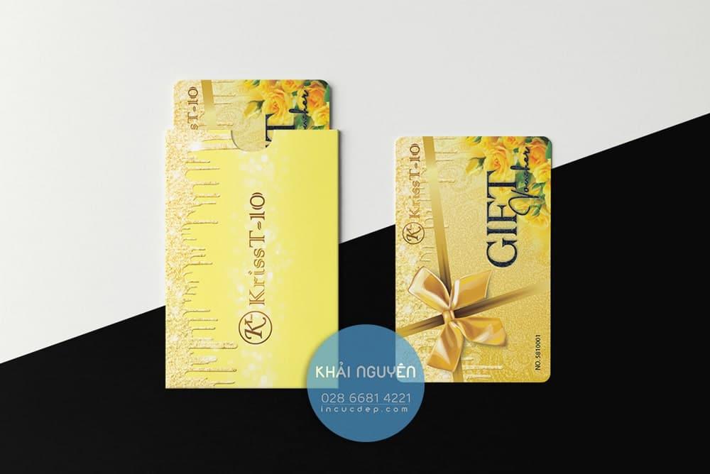 Gift card KT Kriss Design