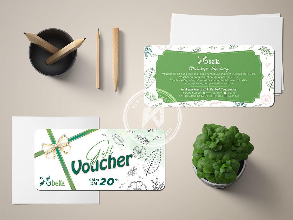 Gift voucher bella shop - sale off 20%