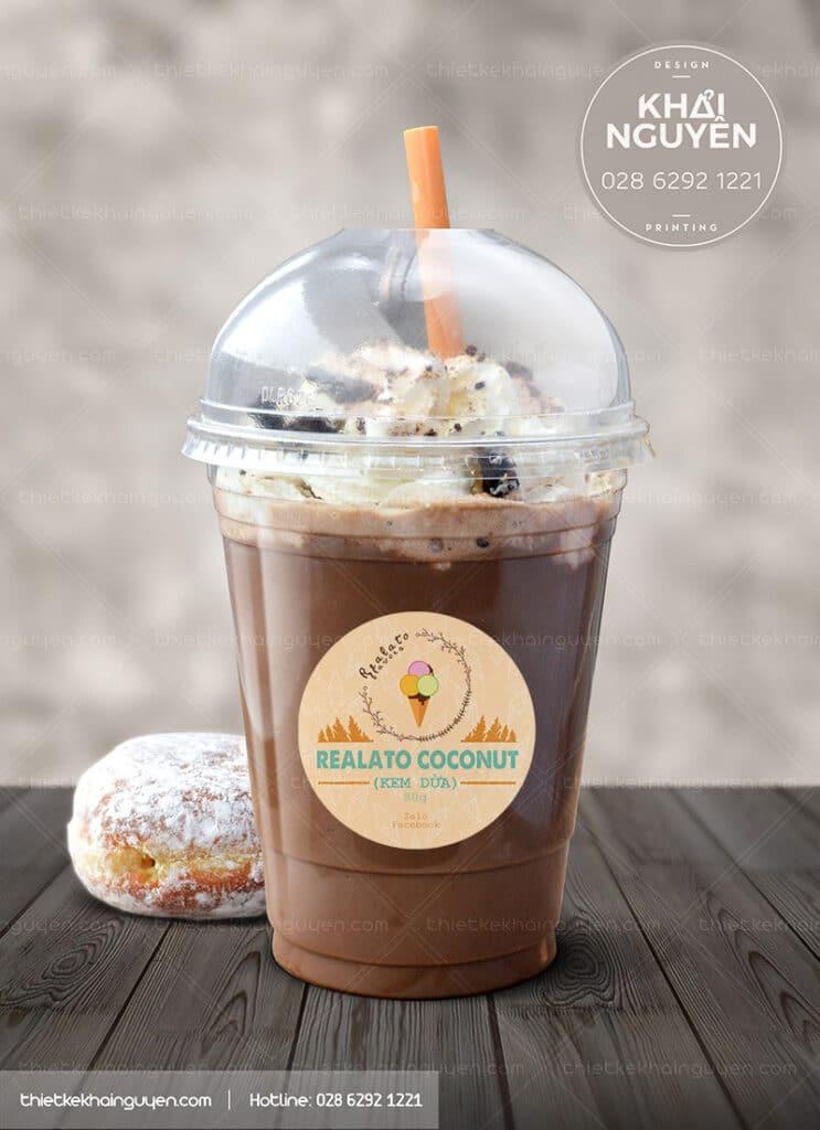 Mẫu thiết kế logo quán cà phê