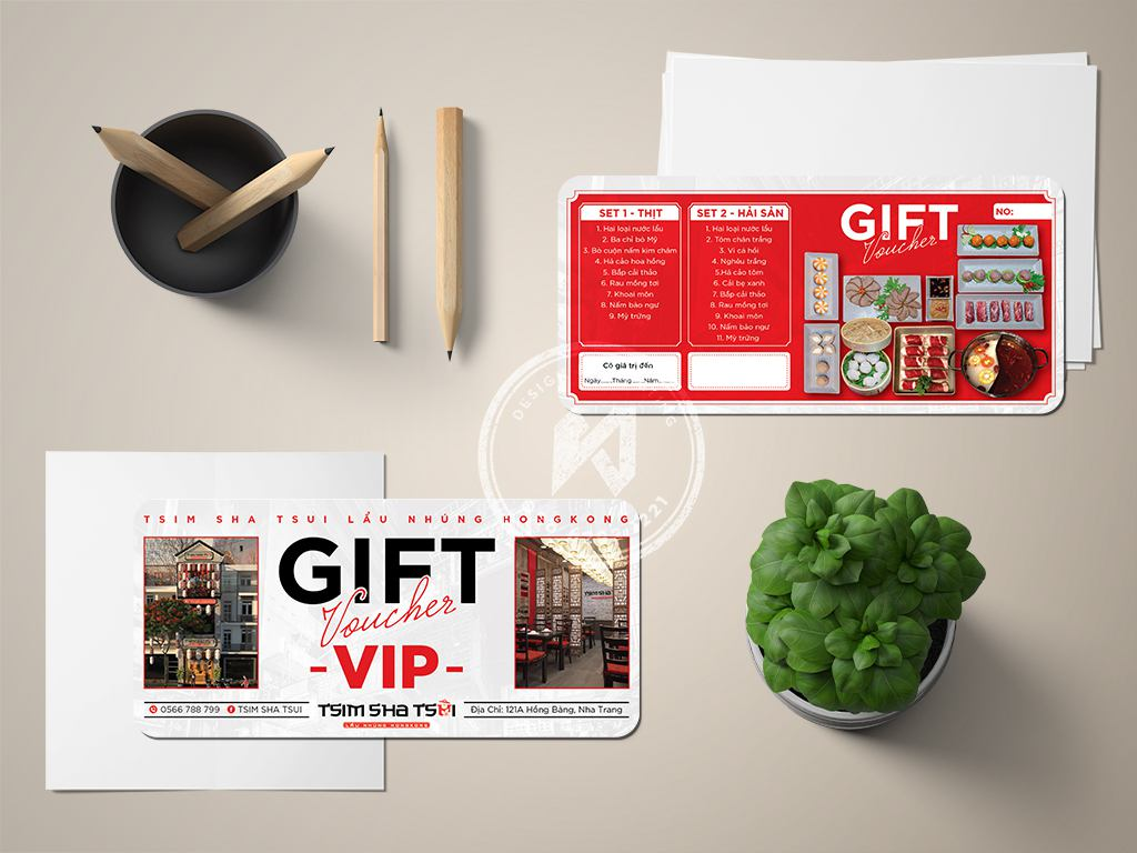 Thiết kế GIFT VIP nhà hàng