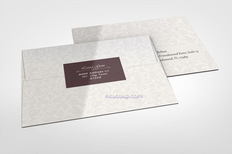 In bao thư số lượng ít với nhiều loại giấy khác nhau