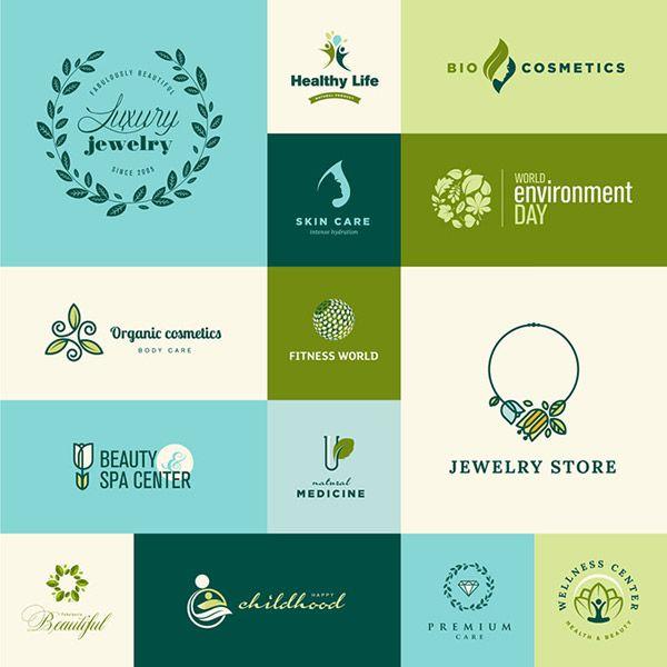 Tư vấn thiết kế logo phong thủy - logo xanh cho mệnh mộc