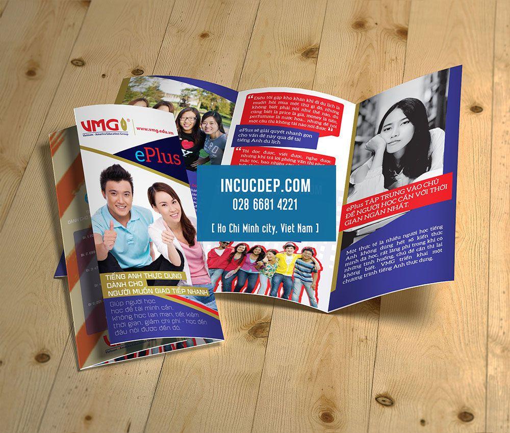 Photo of Thiết kế brochure gấp 3, thiết kế tờ gấp 3 chuyên nghiệp