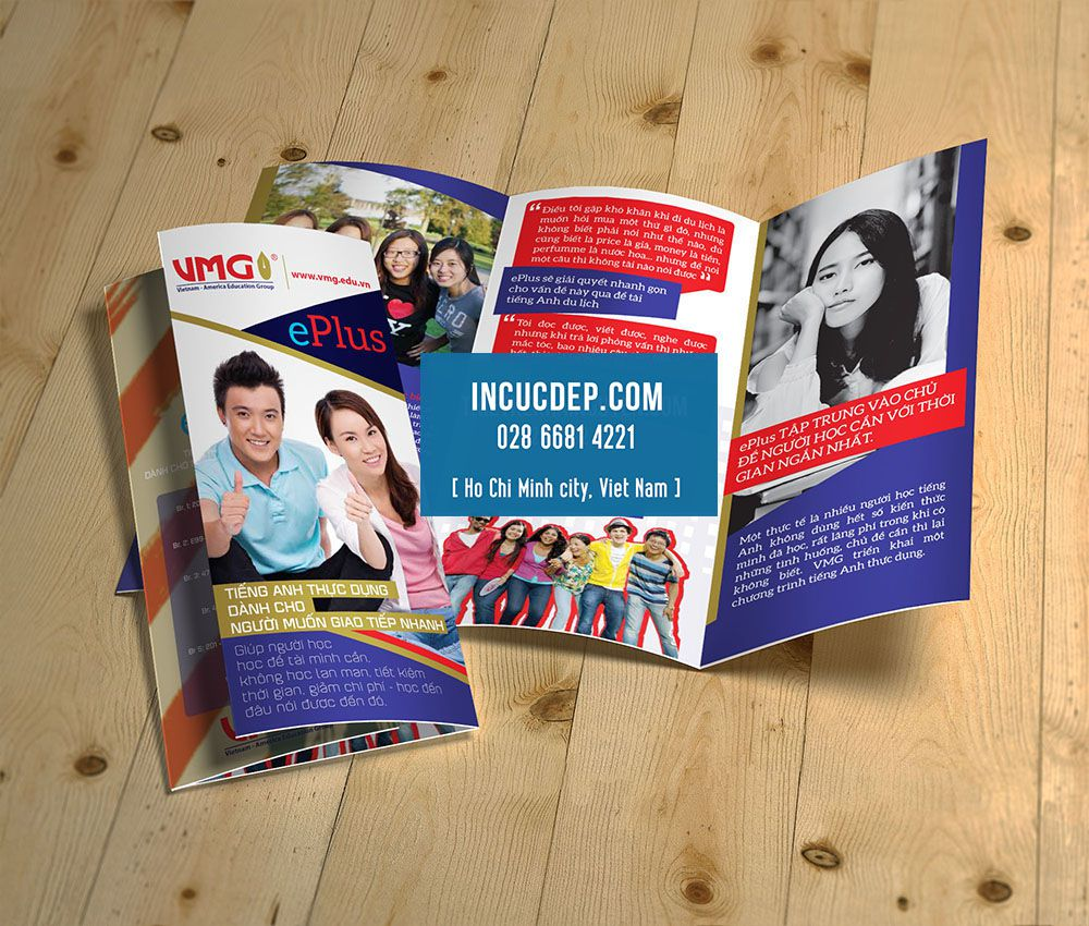 Thiết kế & in brochure giáo dục